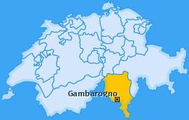 Karte von Gambarogno