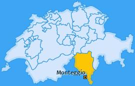 Karte von Monteggio