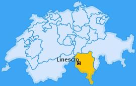 Karte von Linescio