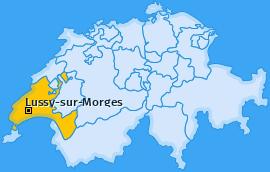 Karte von Lussy-sur-Morges