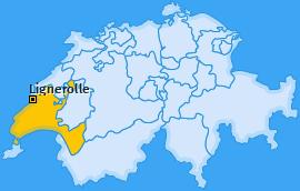 Karte von Lignerolle