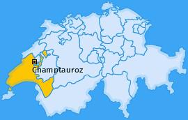 Karte von Champtauroz