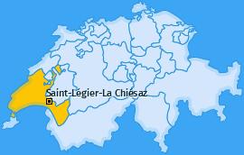 Karte von Saint-Légier-La Chiésaz