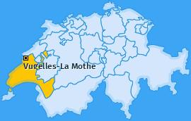 Karte von Vugelles-La Mothe