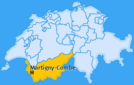 Karte von Martigny-Combe