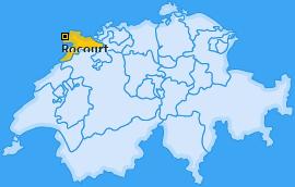 Karte von Rocourt