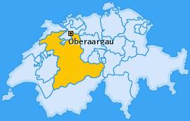 Verwaltungskreis Oberaargau Landkarte