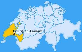 Karte von Bourg-en-Lavaux