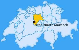Karte von Escholzmatt-Marbach
