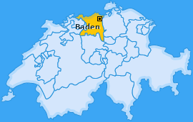 Karte von Baden