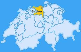 Karte Dättwil Baden