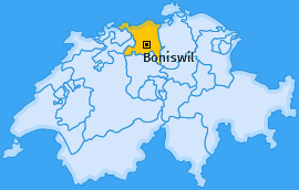 Karte von Boniswil