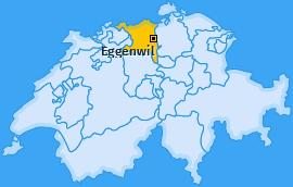 Karte von Eggenwil