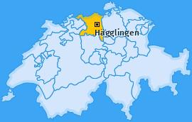 Karte von Hägglingen