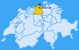 Karte von Koblenz