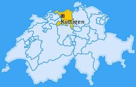 Karte von Küttigen