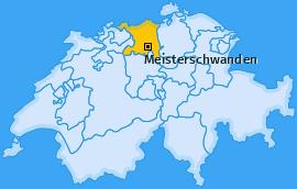 Karte von Meisterschwanden