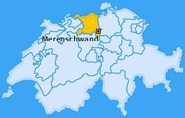 Karte von Merenschwand