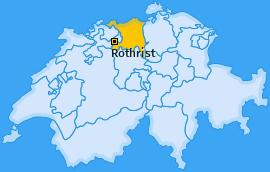 Karte von Rothrist