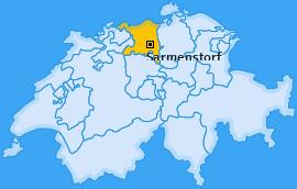 Karte von Sarmenstorf