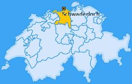 Karte von Schwaderloch