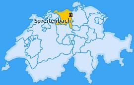 Karte von Spreitenbach