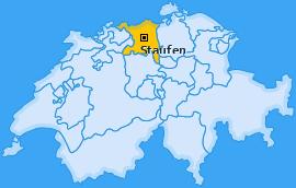 Karte von Staufen