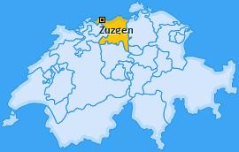 Karte von Zuzgen