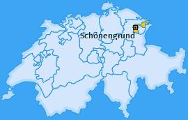 Karte von Schönengrund