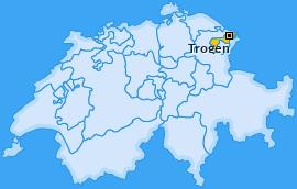 Karte von Trogen