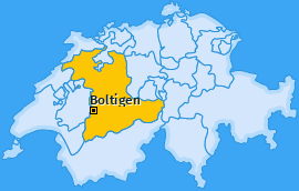 Karte von Boltigen
