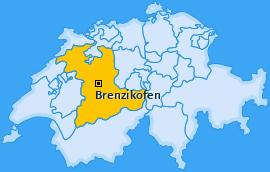 Karte von Brenzikofen