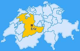 Karte von Eriz