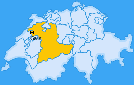 Karte von Gals