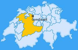 Karte von Gondiswil