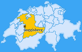 Karte von Guggisberg