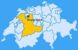 Karte von Koppigen