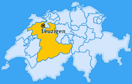 Karte von Leuzigen