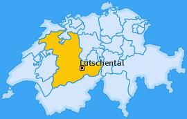 Karte von Lütschental