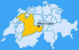 Karte von Meiringen