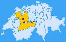 Karte Tägertschi Münsingen