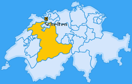 Karte von Schelten