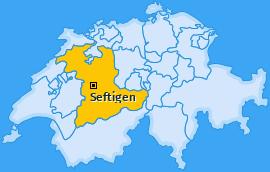 Karte von Seftigen