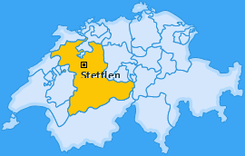 Karte von Stettlen