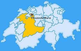 Karte von Thunstetten