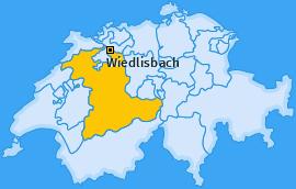 Karte von Wiedlisbach