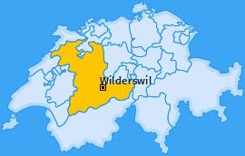 Karte von Wilderswil