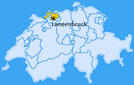Karte von Langenbruck