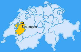 Karte von Bösingen