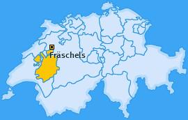 Karte von Fräschels